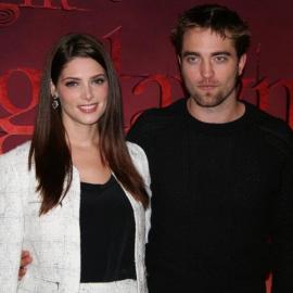 Ashley Greene & Robert Pattinson | 'Breaking Dawn - Part 1' Stockholm Photocall