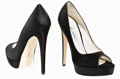 Brian Atwood WAGNER Peep Toe Pumps