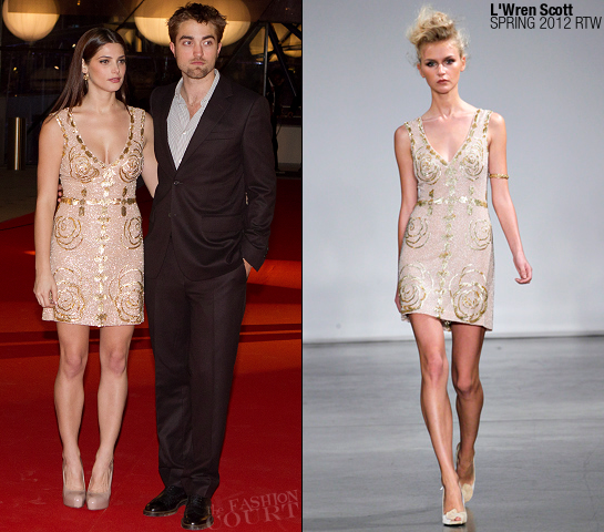 "Ashley Greene in L'Wren Scott | ""Breaking Dawn: Part 1"" Brussels Premiere Fan Event"