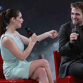 Ashley Greene & Robert Pattinson | 'Breaking Dawn - Part 1' Stockholm Fan Event