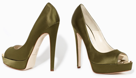 Brian Atwood WAGNER Open Toe Pumps