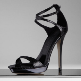 Burberry Strappy Alligator Sandals