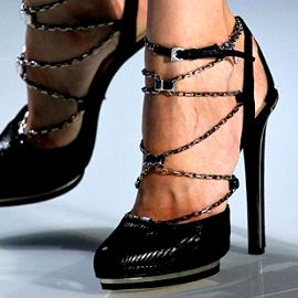 Christian Dior Spring 2012 - Chain Strap Sandals
