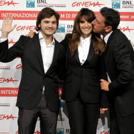 Emile Hirsch, Penelope Cruz and Sergio Castellitto