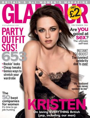Kristen Stewart | GLAMOUR UK, December 2011