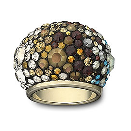 Swarovski Chic Mocca Ring