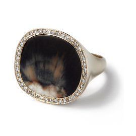 Monique Pean Sunburt Walrus Ring