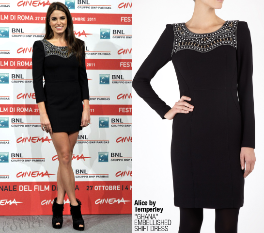 Nikki Reed in ALICE by Temperley | 'The Twilight Saga: Breaking Dawn - Part 1' Rome Photocall