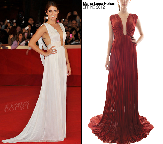 Nikki Reed in Maria Lucia Hohan | 2011 Rome Film Festival Premiere - 'The Twilight Saga: Breaking Dawn - Part 1'