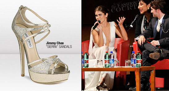 Nikki Reed in Jimmy Choo | 2011 Rome Film Festival Premiere - 'The Twilight Saga: Breaking Dawn - Part 1'