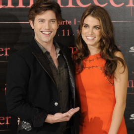 Jackson Rathbone & Nikki Reed | 'Breaking Dawn - Part 1' Madrid Photocall