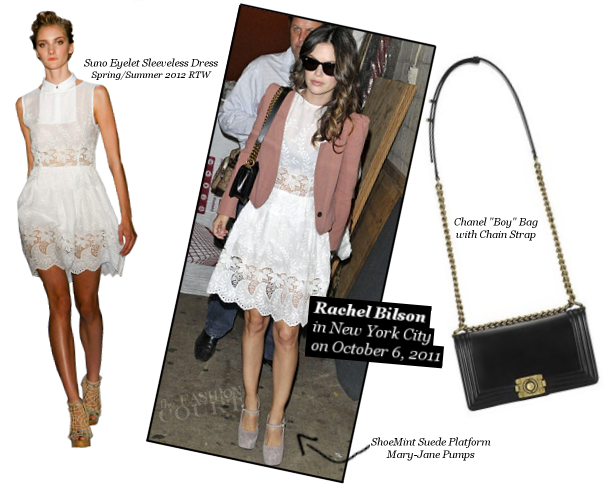 Rachel Bilson in Suno, ShoeMint & Chanel!