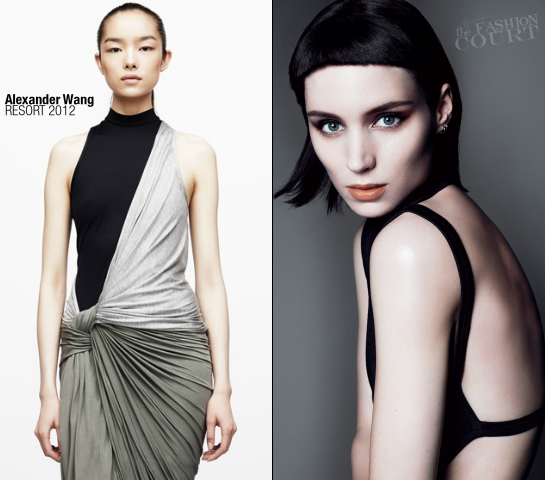 Rooney Mara in Alexander Wang | VOGUE, November 2011