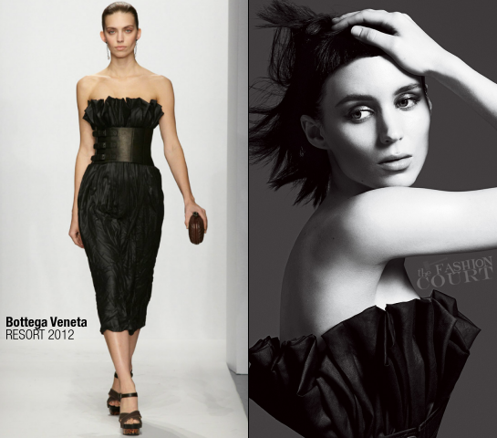 Rooney Mara in Bottega Veneta | VOGUE, November 2011
