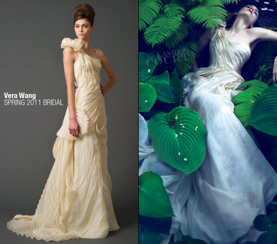 Rooney Mara in Vera Wang Bridal | VOGUE, November 2011