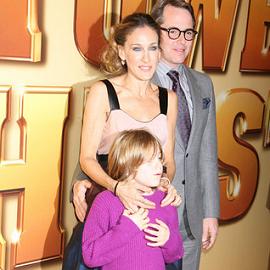 Sarah Jessica Parker, James Wilke Broderick & Matthew Broderick | 'Tower Heist' NY Premiere