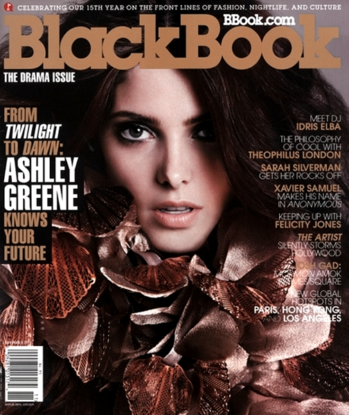 Cover Girl: Ashley Greene for the November Issue of BlackBook!
