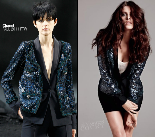 Ashley Greene in Chanel, Jason Wu & Ann Demeulemeester | BlackBook, November 2011