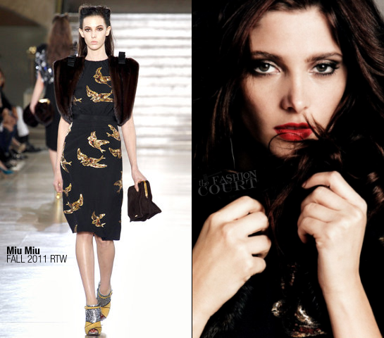 Ashley Greene in Miu Miu | BlackBook, November 2011