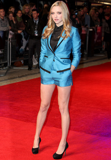 Amanda Seyfried in H&M | 'In Time' London Premiere