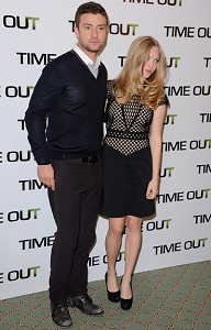 Justin Timberlake & Amanda Seyfried | 'In Time' Paris Photocall