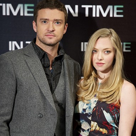 Justin Timberlake & Amanda Seyfried | 'In Time' Madrid Photocall