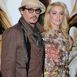 Johnny Depp & Amber Heard | 'The Rum Diary' Paris Photocall