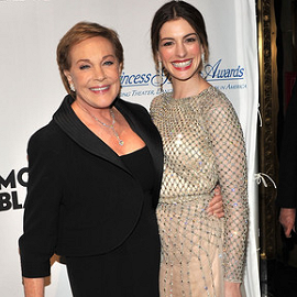 Julie Andrews & Anne Hathaway | Princess Grace Awards Gala