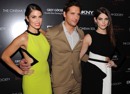 Nikki Reed, Peter Facinelli & Ashley Greene | 'The Twilight Saga: Breaking Dawn - Part 1' NY Screening