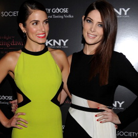 Nikki Reed & Ashley Greene | 'The Twilight Saga: Breaking Dawn - Part 1' NY Screening