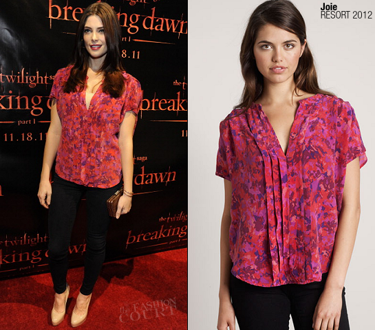 Ashley Greene in Joie | 'The Twilight Saga: Breaking Dawn – Part 1' Concert Tour – San Francisco