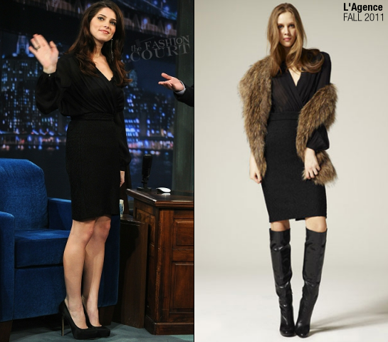 Ashley Greene in L'Agence | 'Late Night with Jimmy Fallon'