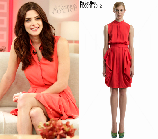 Ashley Greene in Peter Som | 'The Today Show'