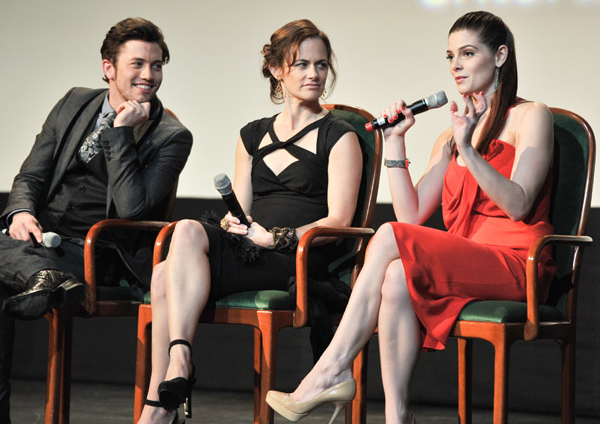 Jackson Rathbone, Sarah Clarke & Ashley Greene | 'The Twilight Saga: Breaking Dawn - Part 1' Toronto Premiere