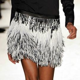Barbara Bui - Spring 2012 - Beaded Skirt