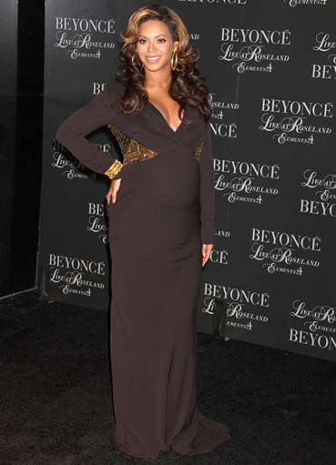 Beyoncé Knowles in Roberto Cavalli | 'Live At Roseland: The Elements Of 4' NY Screening