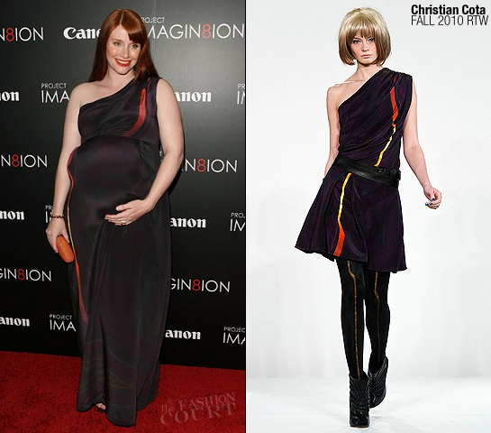 Bryce Dallas Howard in Christian Cota | Canon's Project Imagin8ion 'When You Find Me' LA Screening