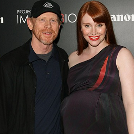 Ron Howard & Bryce Dallas Howard | Canon's Project Imagin8ion 'When You Find Me' LA Screening