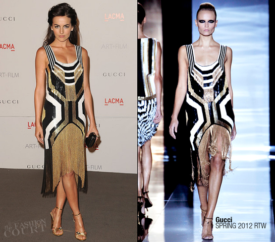 Camilla Belle in in Gucci | LACMA Art + Film Gala presented by Gucci