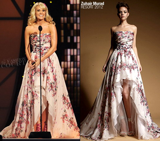 Carrie Underwood in Zuhair Murad | 45th Annual CMA Awards