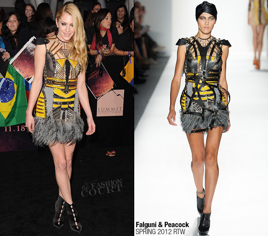 Casey LaBow in Falguni & Shane Peacock | 'The Twilight Saga: Breaking Dawn - Part 1' LA Premiere