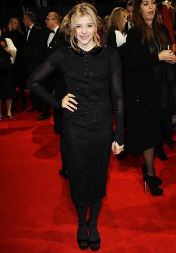 Chloe Moretz in Emilio Pucci | 'Hugo' London Premiere