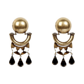 DANNIJO Tia Brass Earrings