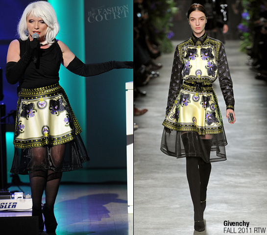 Debbie Harry in Givenchy | 2011 Glamour Women Of The Year Awards