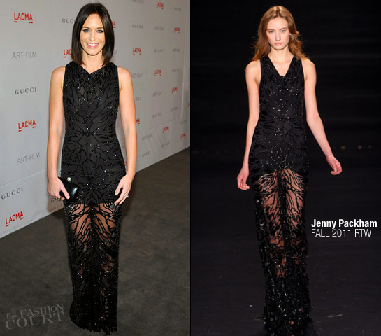 Emily Blunt in Jenny Packham | LACMA Art + Film Gala presented by Gucci