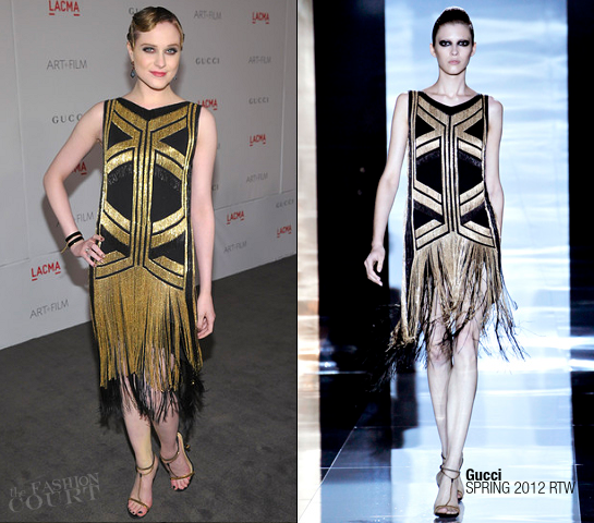 Evan Rachel Wood in Gucci | LACMA Art + Film Gala presented by Gucci