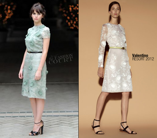 Felicity Jones in Valentino | 'Like Crazy' Beverly Hills Photocall