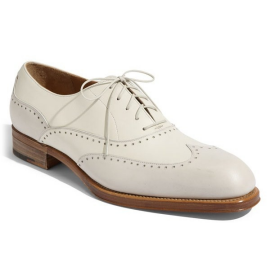 Salvatore Ferragamo Men's Wingtip Oxford
