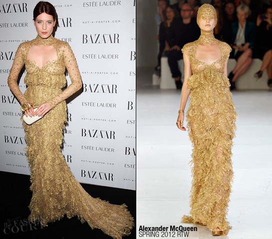 Florence Welch in Alexander McQueen | Harper's Bazaar Women Of the Year Awards 2011