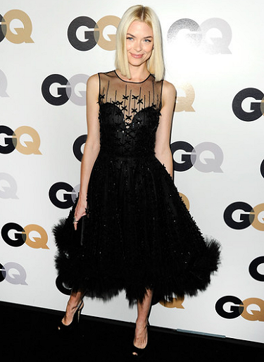 Jaime King in Oscar de la Renta | 16th Annual GQ 'Men Of The Year' Party